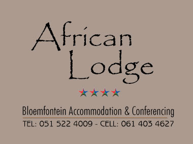 African Lodge - African Lodge is situated across the street from the Universitas Hospital and within walking distance of the University of the Free State (UFS).