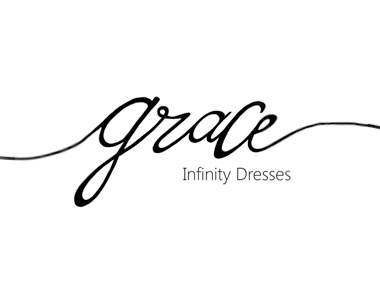 Grace Infinity Dresses - Order the Infinity Dress for your bridesmaids. This 1 dress can be worn in more than 36 different styles. Each bridesmaid can have a look to suit her own style without looking too different from the others. The dress can be worn again after the wedding.